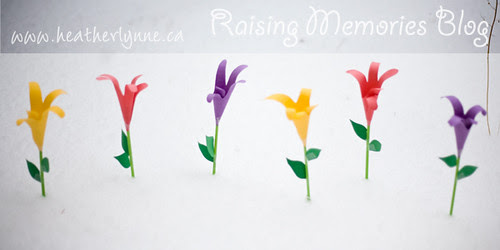 how to make paper lillies