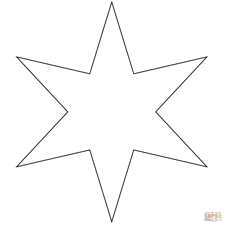 er sur la étoile  six branches coloriages pour visualiser la version imprimable ou colorier en ligne patible avec les tablettes iPad et Android