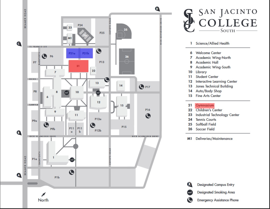 San Jacinto College North Campus Map San Jac North Campus Map | Bedroom 2018