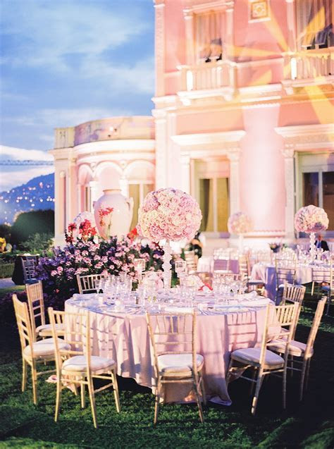 A Villa Ephrussi de Rothschild Wedding on the French