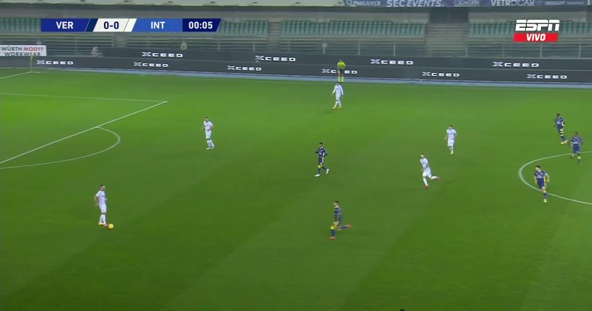 Serie A- Hellas Verona vs Inter Milan 23/12/2020 | Lukas ...