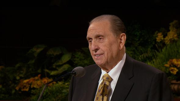 Lovethe Essence Of The Gospel By President Thomas S Monson