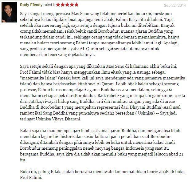 Buku Bantahan Untuk Borobudur Peninggalan Nabi Sulaiman Page 4