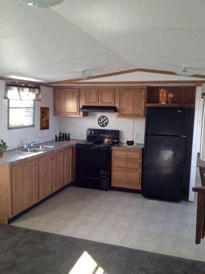 image result  single wide mobile home remodel den