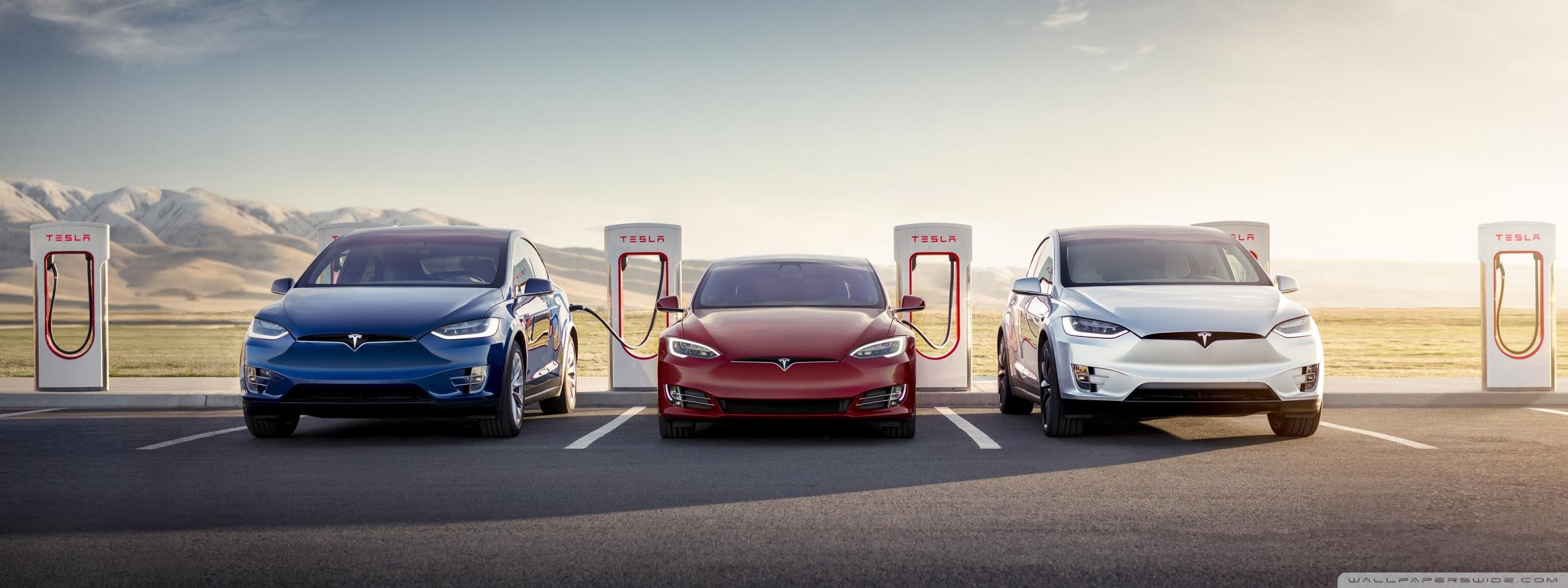Tesla Model S and X