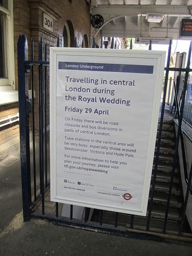 Royal Wedding Travel Advice