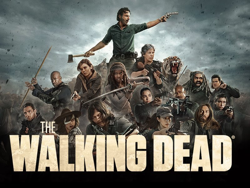 The Walking Dead All Out War Poster The Walking Dead