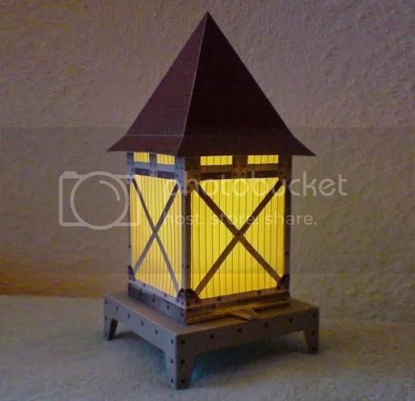 PAPERMAU: Decorative Lantern Paper Model