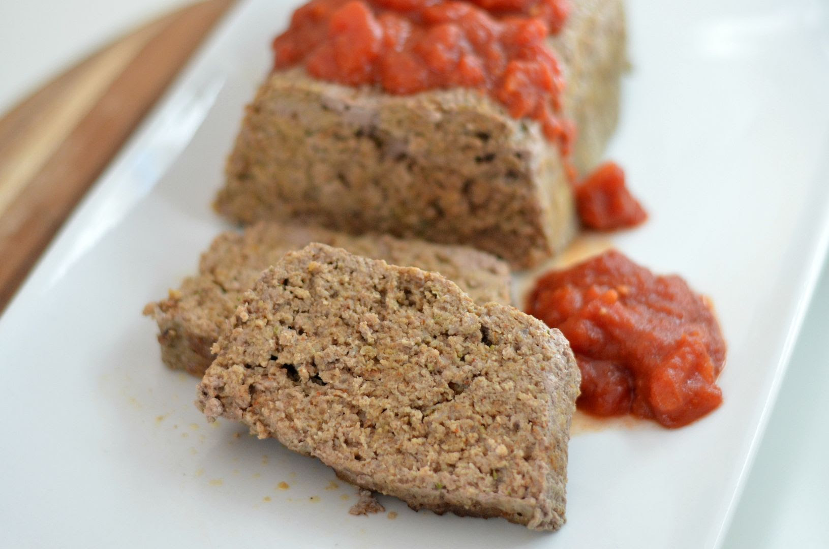 Middle Eastern Spiced Meatloaf