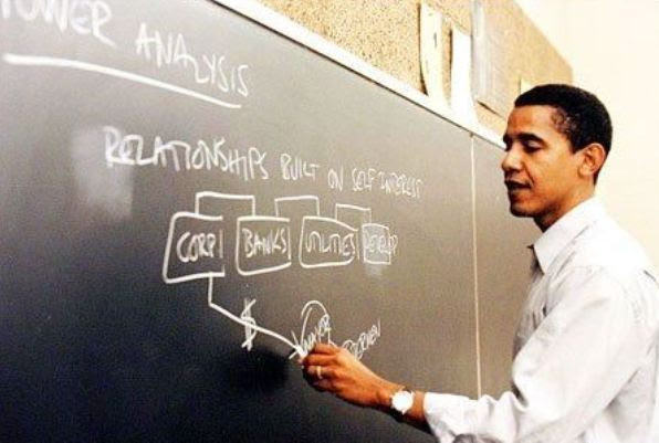 "Obama taught Saul Alinsky's ""Rules for Radicals"""