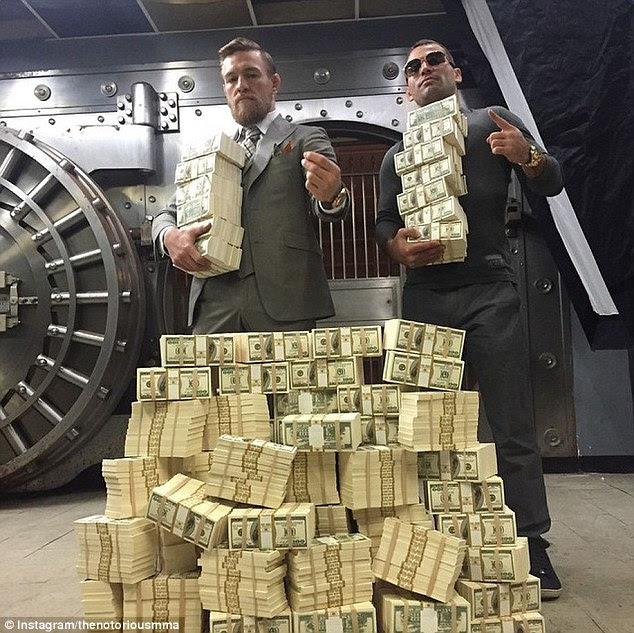 「Conor McGregor and All His Cash」の画像検索結果