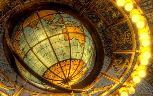 Cool globe