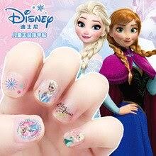 girls Frozen elsa and Anna Makeup Toys Nail Stickers  snow White