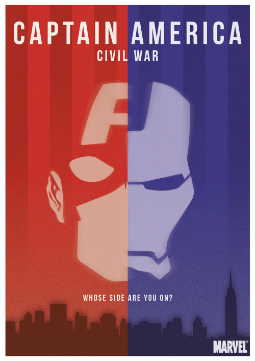 Captain America: Civil War Created by Pete Factory
