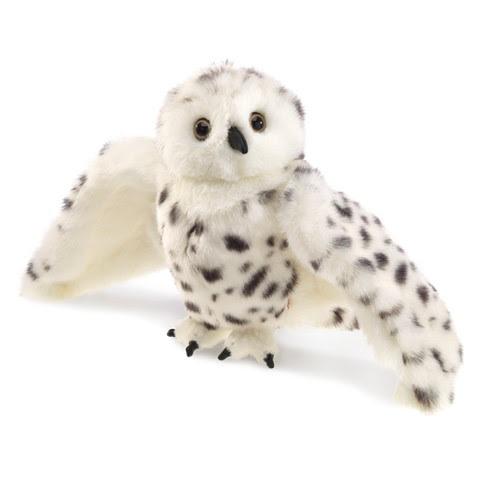 Snowy Owl Hand Puppet     Folkmanis