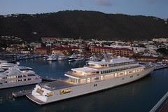 St. Thomas Giant Yacht