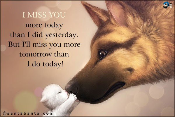 I Miss You More Than Quote Quote Number 682182 Picture Quotes