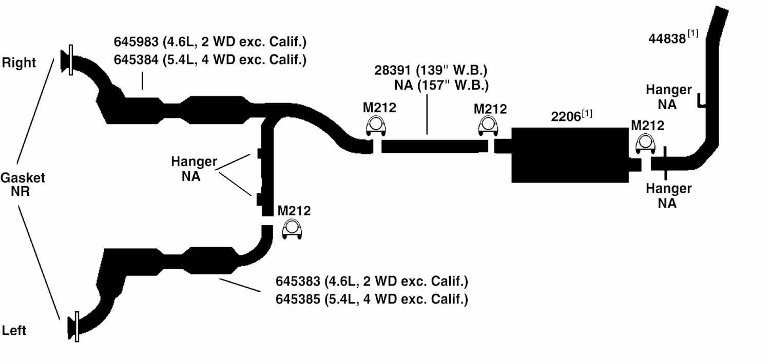 1997 Ford Ranger Exhaust Diagram