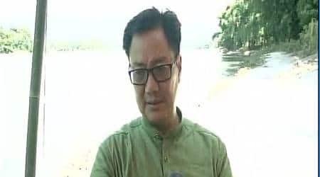 CPI(M) has 'anti-national' thoughts, says Kiren Rijiju at Delhi leg of 'Jan RakshaYatra'
