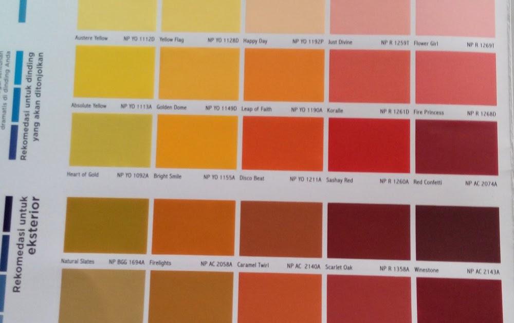 33 Kode Warna Cat Mobil Nippon Paint