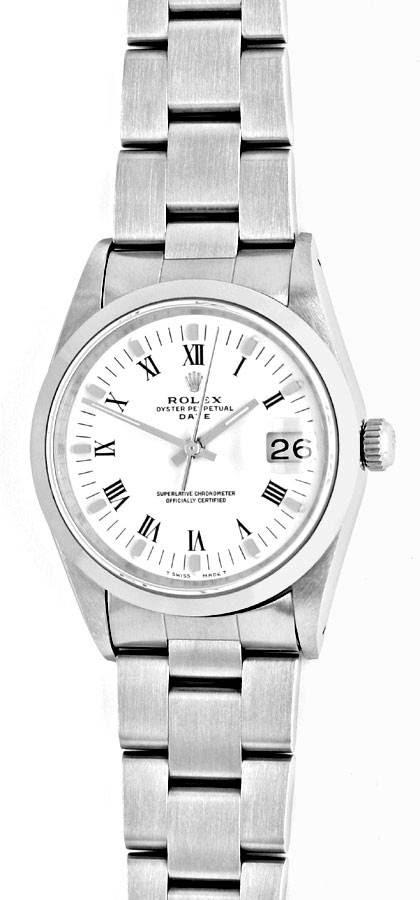 Foto 2, Rolex Date Oyster Perpetual Herrenarmbanduhr Ungetragen, U1677