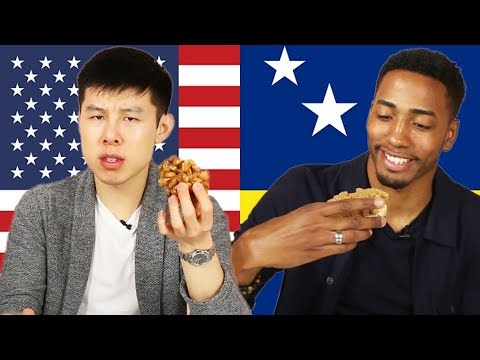 Tasty Producers Swap Their Favorite Snacks • Alvin & Chris • Tasty