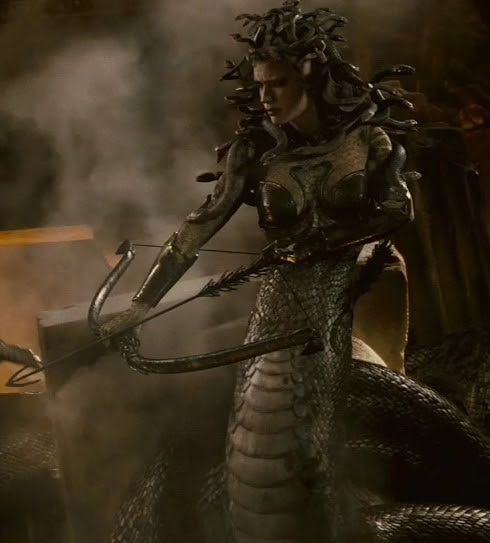 Medusa in Clash of the Titans 2010. Medusa was well done.