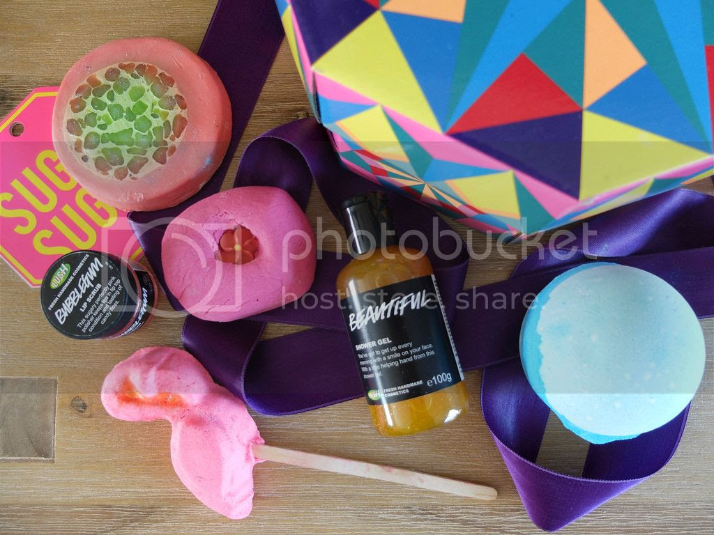 Lush Cosmetics Sugar Sugar gift set