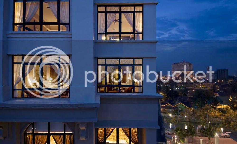 Spa village malacca- the majestic malacca, hotel view