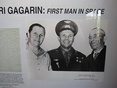 Yuri Gagarin - the First Man in Space