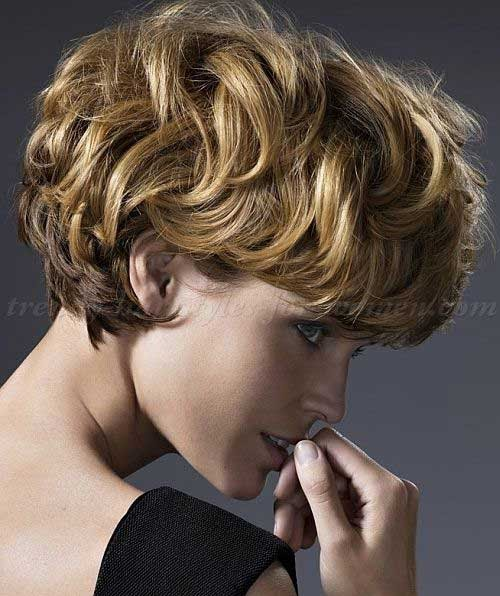 Low Maintenance Short Hairstyles For Thin Curly Hair ...