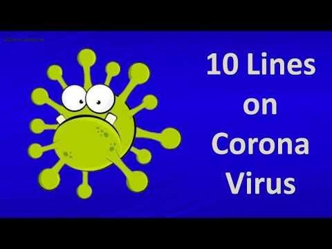 Corona Virus/ 10 lines on Corona Virus in English/Essay on Corona Virus