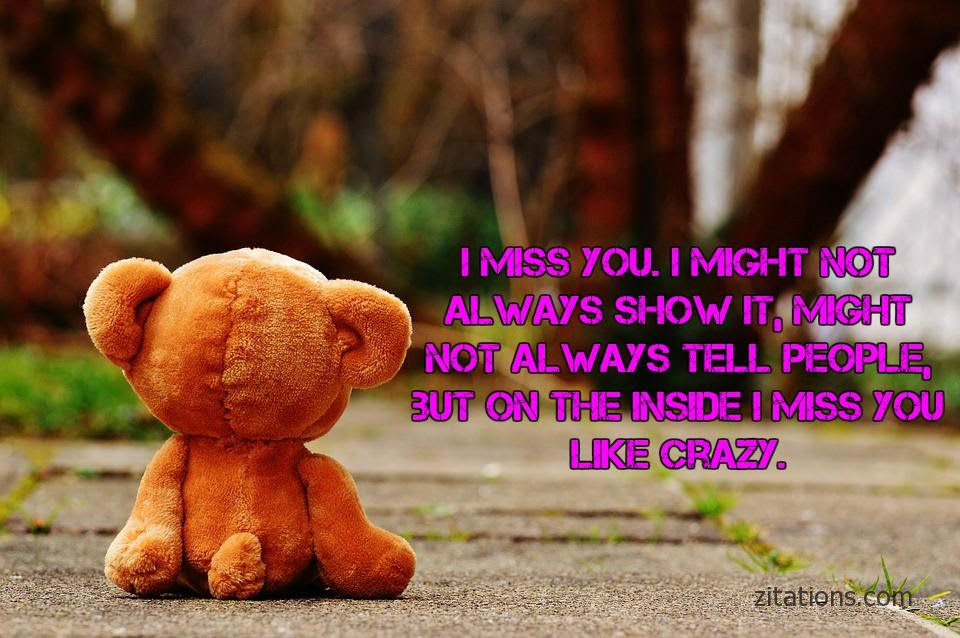 Heart Touching Miss You Quotes For Her Zitations