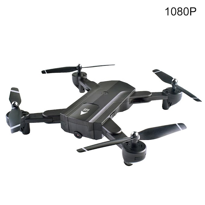 SG900-S Folding Aircraft 1080P WIFI FPV GPS RC Aerial Drone Children's Remote Control Toy Airplane Creative Gift