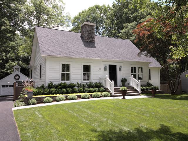 Landscape Design For Cape Cod Style House Landscape Front Yard