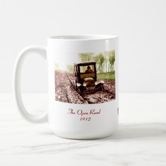 The Open Road mug