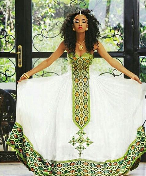 282 best Ethiopia: Traditional dresses images on Pinterest