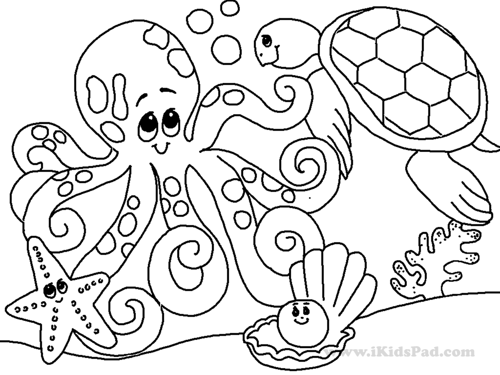 Free Online Coloring Pages For Adults Animals Coloring And Drawing
