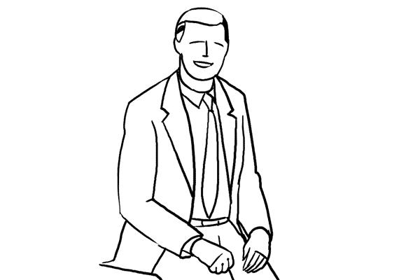 Позирование: позы для мужского портрета 10