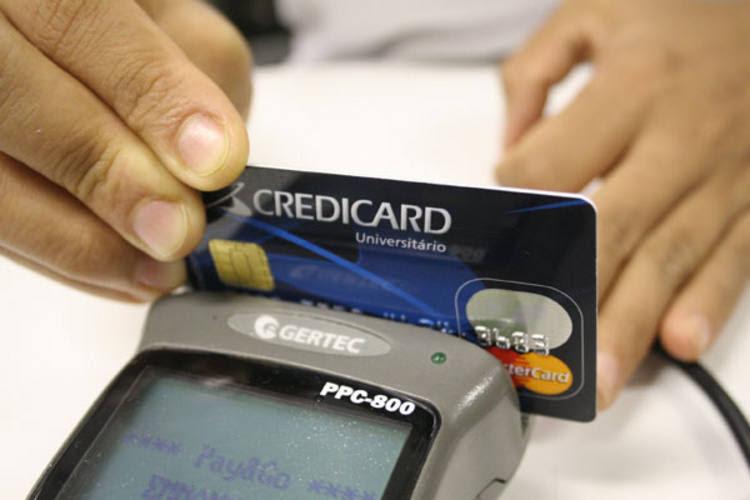Regras também incluem a padronização dos tipos de cartões