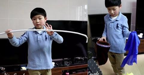 ẢO THUẬT GIA NHÍ Hàn Quốc cực dễ thương của gia đình 🇰🇷278