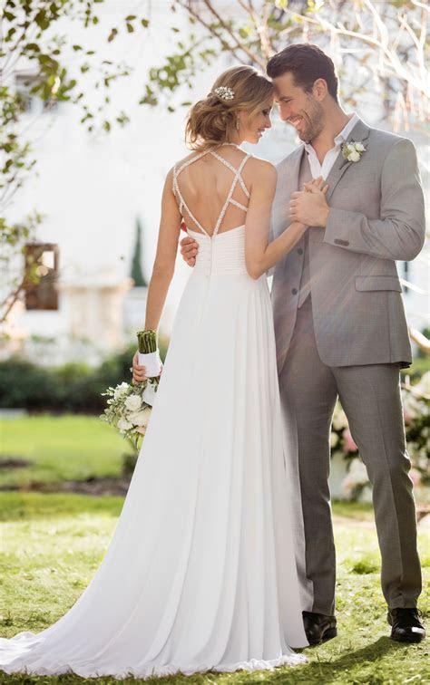 Wedding Dresses   Glamorousl Beach Wedding Dress   Stella York