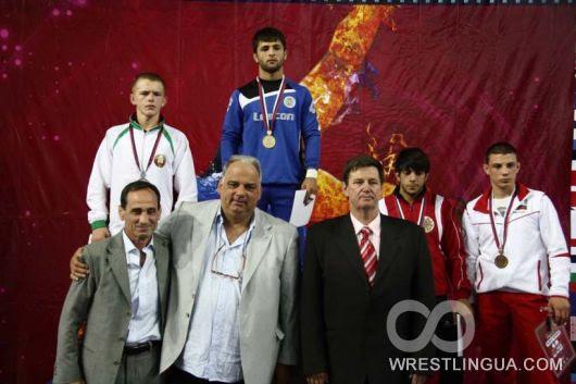Чемпионат Европы по греко-римской борьбе среди юниоров, Зренянин-2011