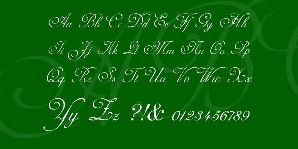 AdineKirnberg-Script Font