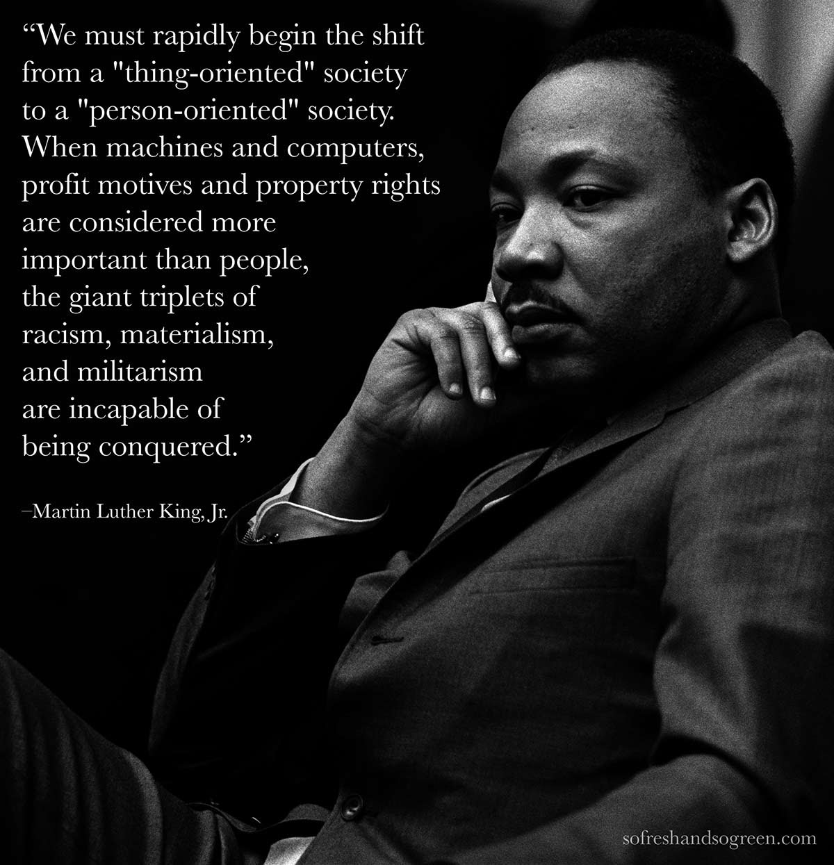 Quote Martin Luther King Jr On Environmentalism So Fresh And So Green