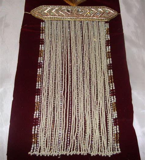Stunning Pearl & Diamante Indian Groom Sehra