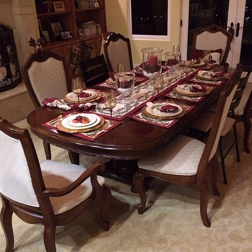 Christmas Eve Dinner Table by heringermr