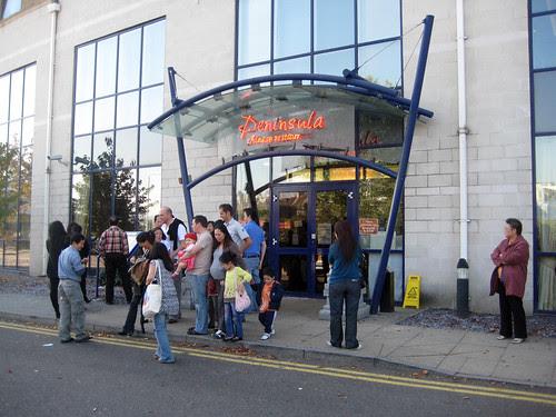 Peninusl Grenwich queue