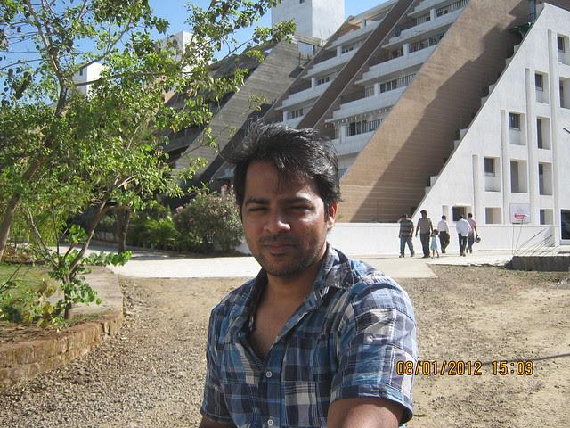Rahul Vakhariya at the site of Al-Track Group's Zig Solis, Ziggurat Phase 2, 2 BHK & 2.5 BHK Flats on Katraj Dehu Road Bypass at Ambegaon Budruk, Pune 411 046