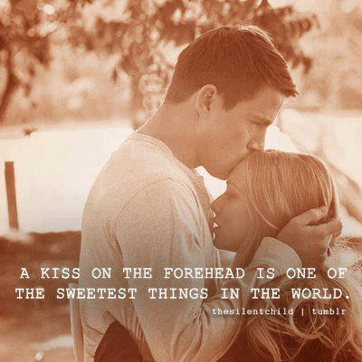 Kissing Couple With Quotes